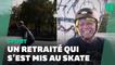 À 81 ans, ce skateboarder enchaîne les figures comme un pro