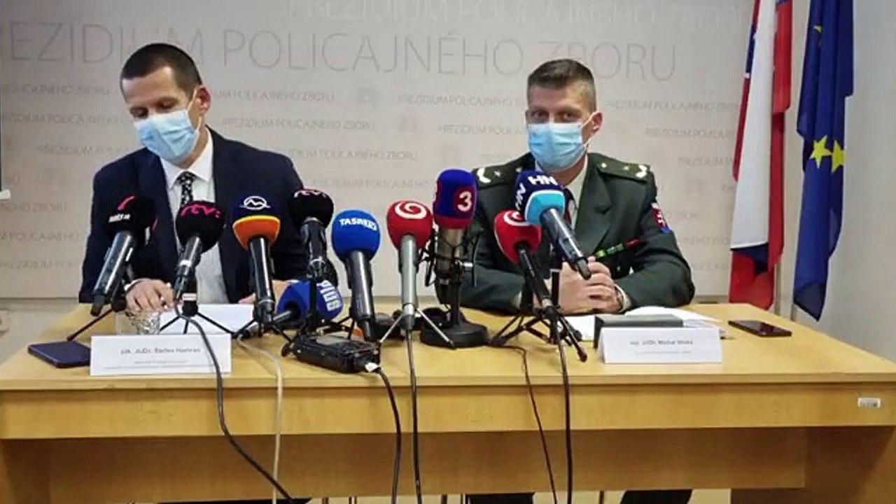 ZÁZNAM: TK dočasného policajného prezidenta Štefana Hamrana