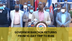 Governor Barchok returns from 10-day trip to Iran