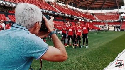Making of de la photo officielle saison 2021-2022 du SRFC