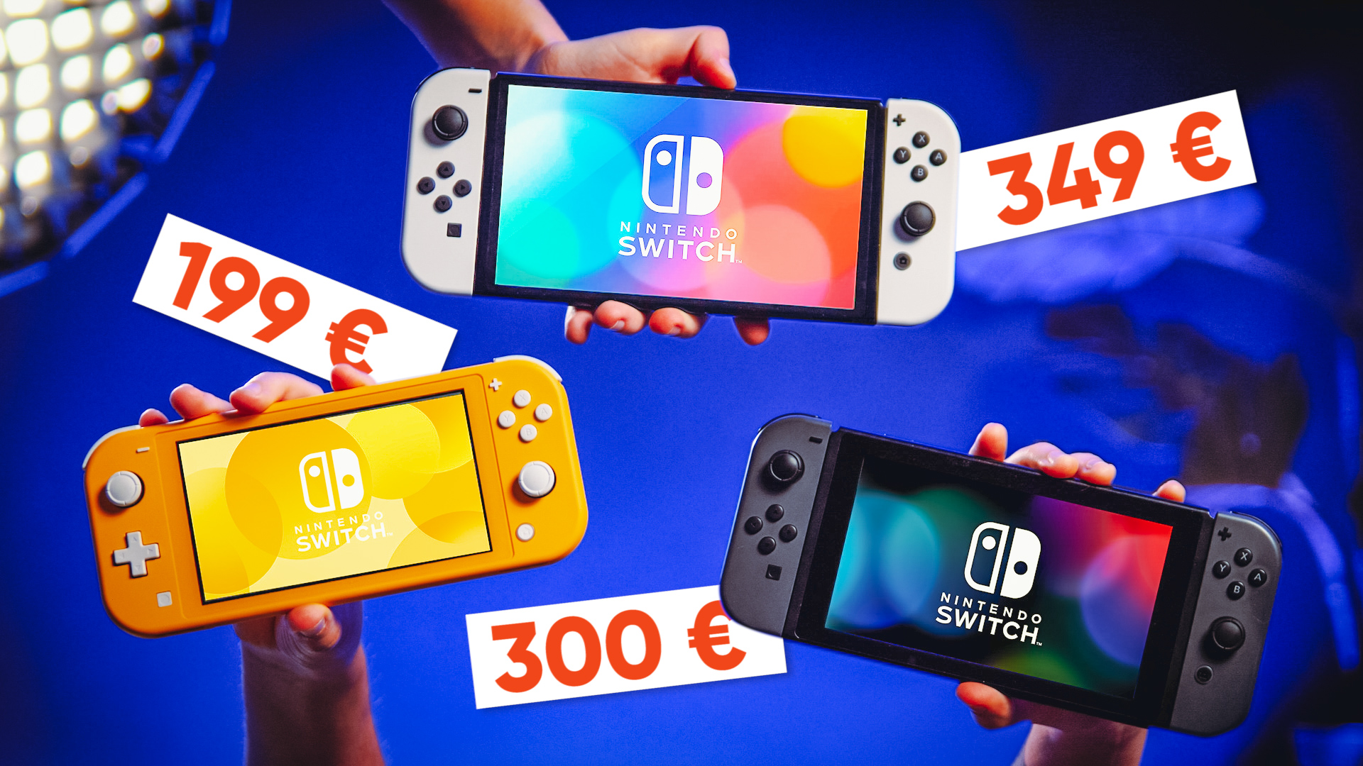 QUELLE Nintendo SWITCH choisir ? (Switch OLED vs Switch vs Switch Lite)