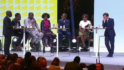 Tripatouillage constitutionnel en Afrique :  le message fort d'Aliou Bah devant Macron
