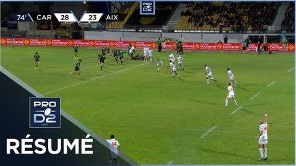 PRO D2 - Résumé US Carcassonne-Provence Rugby: 28-30 - J06 - Saison 2021/2022