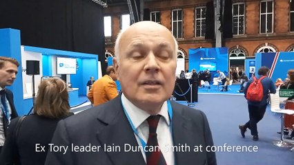 Tory conference 2021 IDS