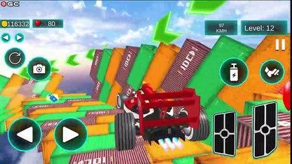 Formula Car Stunts Game 2021 / Impossible Mega Ramp Games / Android GamePlay #2