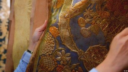 أغطية الجدران الجلدية تعود من جديد