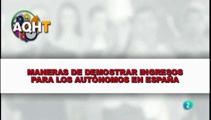 MANERAS DE DEMOSTRAR INGRESOS PARA LOS AUTÓNOMOS EN ESPAÑA