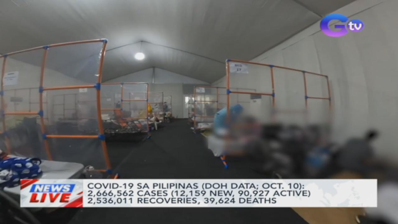 COVID-19 sa Pilipinas (DOH data; Oct. 10) | News Live