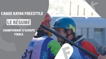 Résumé des championnats d'Europe de Canoë Kayak Freestyle