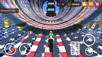 Gangster Bike Stunts 3D Extreme City GT Racing / Motorbike Race / Android GamePlay