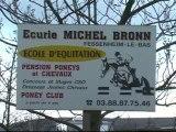 Parcours entrainement CSO 2 mars 2008