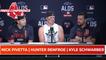 Nick Pivetta, Hunter Renfroe and Kyle Schwarber Press Conference | ALDS Game 3