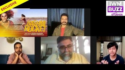 EXCLUSIVEAbhishek BanerjeeAkarsh and Priyanshu on Rashmi Rocket Gender Testing Taapsee Pannu