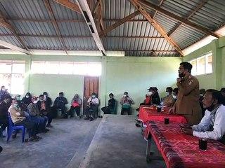Sosialiasi Proses Verifikasi Masyarakat Adat di Tapanuli Utara