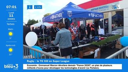 11/10/2021 - Le 6/9 de France Bleu Occitanie en vidéo