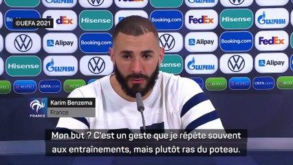 """Benzema : """"quand j'ai frappé, j'ai su que ça allait rentrer"""""""