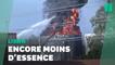 Dans un Liban en pleine pénurie de carburant, énorme incendie dans une raffinerie