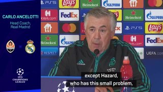 Real motivated for Shakhtar fixture but will be without Hazard