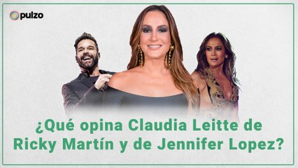 ¿Qué opina Claudia Leitte de Ricky Martin y de Jennifer Lopez?