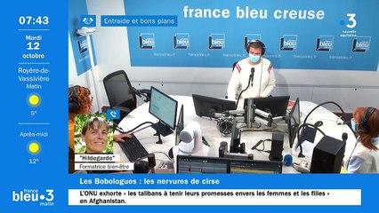 12/10/2021 - Le 6/9 de France Bleu Creuse en vidéo
