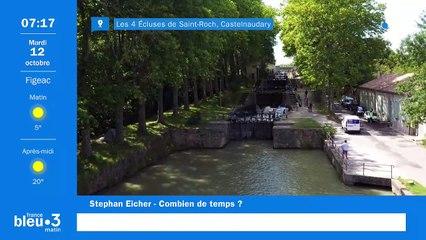 12/10/2021 - Le 6/9 de France Bleu Occitanie en vidéo