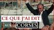 Éric Zemmour en conférence en Corse