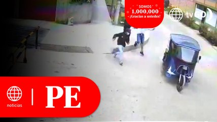 Barrio de Comas ha sido tomado por la delincuencia   Primera Edición