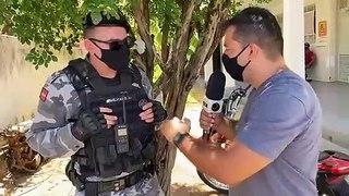 Moto que havia sido roubada em Pombal é recuperada pela Polícia Militar após denúncia anônima