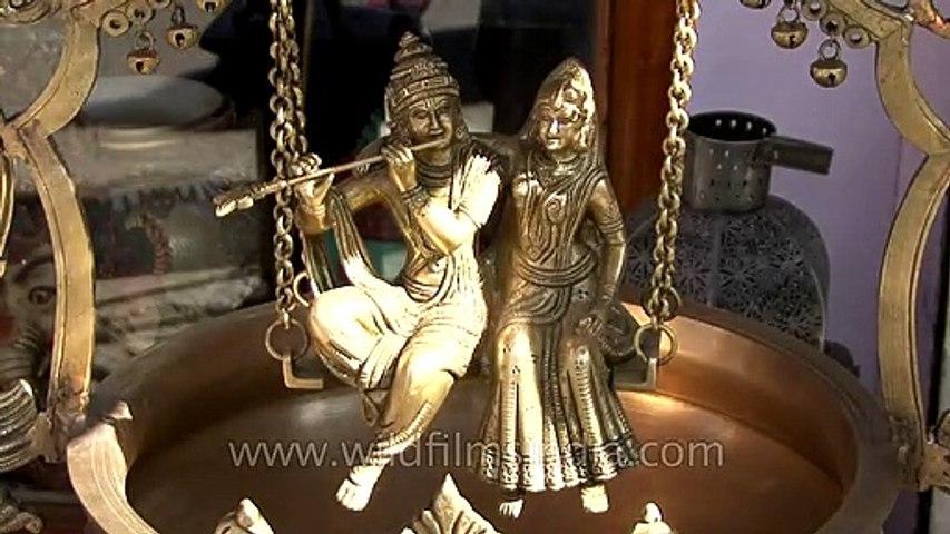 Sculpture of Radha-Krishna