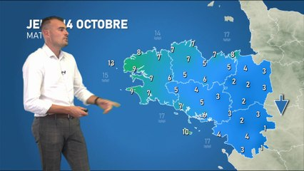 Illustration de l'actualité La météo de votre jeudi 14 octobre 2021