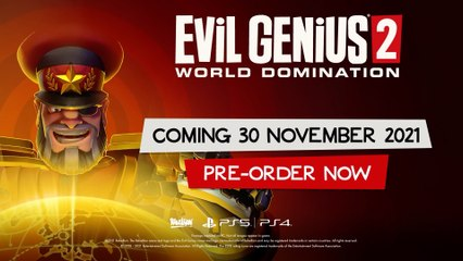 Evil Genius 2 - World Domination - Release Date Trailer PS