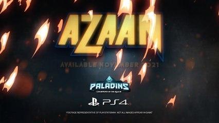 Paladins - Azaan Reveal Trailer PS