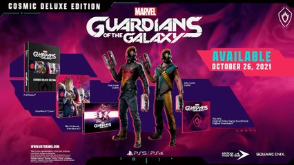 Marvel's Guardians of the Galaxy - Cosmo Cinematic Trailer PS