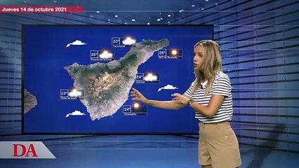 La previsión del tiempo en Canarias para el jueves, 14 de octubre de 2021