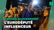 On a suivi Raphaël Glucksmann, l'instagrameur politique le plus influent en France
