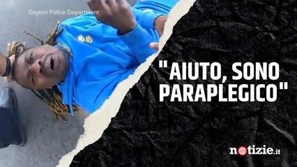 Usa, afroamericano paraplegico trascinato fuori dall'auto dalla polizia: polemica dopo l'arresto