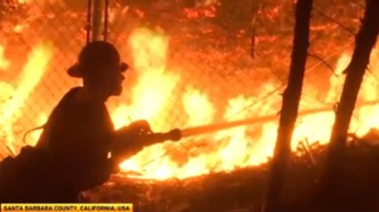 Raging California Wildfires
