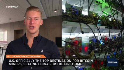 U.S. Top Spot For Bitcoin Miners