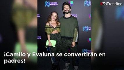 Camilo y Evaluna estrenaron su nueva canción y anunciaron que serán papás