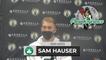 Sam Hauser Postgame Interview 10-13
