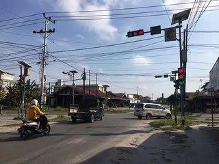 Lampu Lalu Lintas Jalan Tingang, Palangka Raya, Terganggu