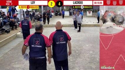 16ème LOY vs LACROIX : International à pétanque de Monaco - 9 octobre 2021