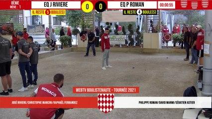 8ème MONACO vs Eq P ROMAN : International à pétanque de Monaco - 9 octobre 2021