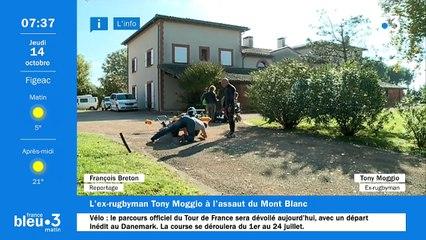 14/10/2021 - Le 6/9 de France Bleu Occitanie en vidéo