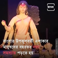 Durga Puja Pandal in West Bengal depicts life of people residing in coastal areas