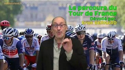 Je vous dévoile le parcours du Tour de France 2022