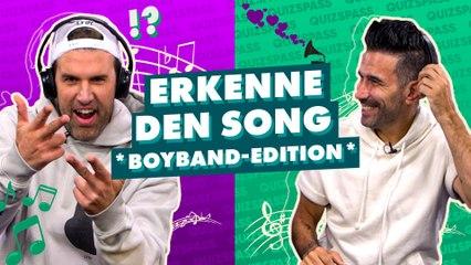 Jay Khan und Marc Terenzi im ultimativen Boyband Quiz!
