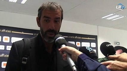 """Robert Pirès : """"On est toujours atteint par le syndrome OM"""""""