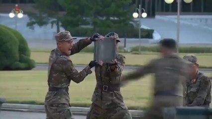 Démonstration de l'armée Nord Coréenne