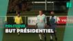 Les images de Macron footballeur pour le Variétés club de France